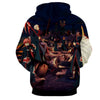 Image of AKATSUKI ALL 3D JACKET - NARUTO HOODIE - Hoodielovers