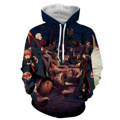 AKATSUKI ALL 3D JACKET - NARUTO HOODIE - Hoodielovers