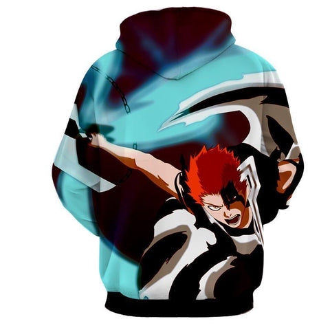 Ichigo Shinigami Striking 3D Hoodie - Hoodielovers
