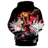 Image of Hollow Ichigo Kurosaki Vasto Lorde Vs Ulquiorra 3D Hoodie - Hoodielovers