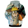 Image of Naruto 3D Hoodies - Fighting Naruto jacket - Hoodielovers