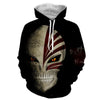 Image of Ichigo Kurosaki Hollow Mask 3D Hoodies - Hoodielovers