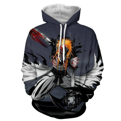 Ichigo's Hollow Full Transform 3D Hoodie - Hoodielovers