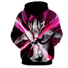 Image of Bleach Ichigo Kurosaki full hollowfication vasto lorde cero 3D Hoodie - Hoodielovers