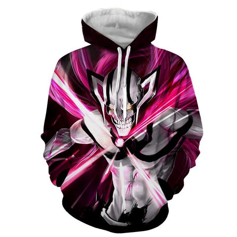 Bleach Ichigo Kurosaki full hollowfication vasto lorde cero 3D Hoodie - Hoodielovers