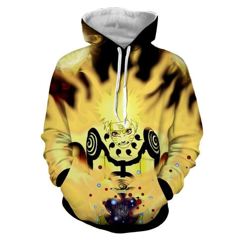 Naruto Jacket - Tailed Beast Rasengan 3D Hoodies - Hoodielovers