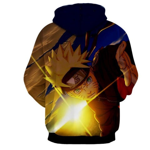 Naruto Hoodies - Kid Naruto 3D Jacket - Hoodielovers