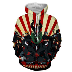 ALL AKATSUKI HOODIE - 3D HOODIE - JACKET - Hoodielovers