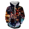 Image of Ichigo Hollow Realistic Concept 3D Hoodie - Hoodielovers