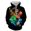 Image of Pokemon Hoodie - Abstract Hoodie - Pokemon Jacket - Hoodielovers