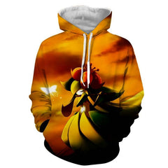 Pokemon Hoodie - Bellossom - Pokemon Jacket - Hoodielovers