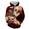 Image of Ichigo Kurosaki Cool Hollow 3D Hoodie - Hoodielovers