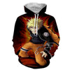 Image of NARUTO UZUMAKI NINE TAIL 3D HOODIE - NARUTO JACKET - Hoodielovers