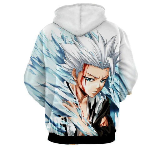 Toshiro Hitsugaya 10th Division Captain Dope 3D Hoodie - Hoodielovers