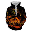 Image of NARUTO ORANGE 3D HOODIE - Naruto Jacket - Hoodielovers