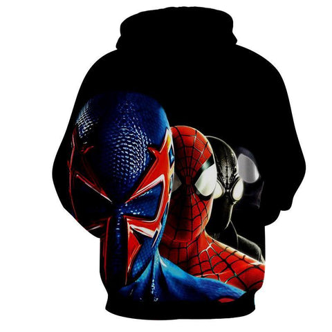 Spiderman Hoodie - Spawn & Spiderman Hoodie - Spiderman Jacket - Hoodielovers