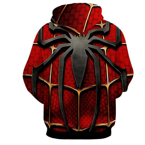 Awesome Spiderman 3D Hoodie - Jacket - Hoodielovers