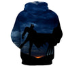 Image of Vermilion Batman 3D Hoodie - Jacket - Hoodielovers