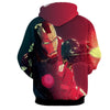 Image of Abstract Iron Man 3D Printed Hoodie - Hoodielovers