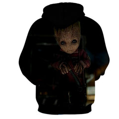 Baby Groot Hoodie - Guardian Of Galaxy Jacket