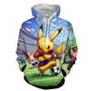 Image of Pokemon Hoodie - Pikachu Soccer Football Hoodie  - Pokemon Jacket - Hoodielovers