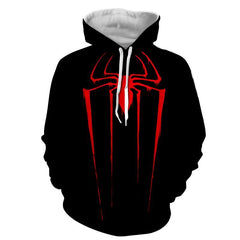 Red Spider 3D Black Hoodie - Jacket - Hoodielovers