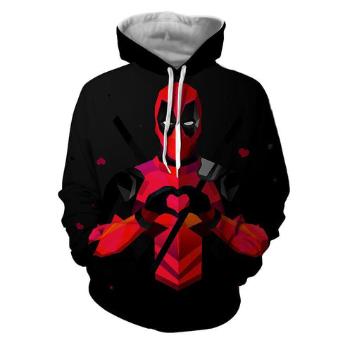 Deadpool Hoodie - Awesome Deadpool Hoodie - Deadpool Jacket - Hoodielovers