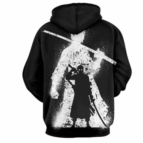 Dark Zoro 3D Hoodie - One Piece - Hoodielovers