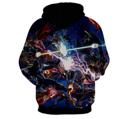 Infinity War 3D Hoodie - Guardian Of Galaxy Jacket