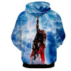 Image of Thor Hoodies - 3D Printed Hoodie - Flying Thor - Hoodielovers