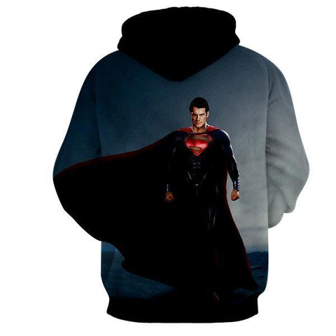 BACK FROM DEAD MAN OF STEEL 3D HOODIE - Hoodielovers