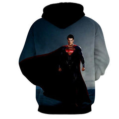 BACK FROM DEAD MAN OF STEEL 3D HOODIE