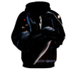 Image of Black Spiderman 3D Hoodie - Jacket - Hoodielovers