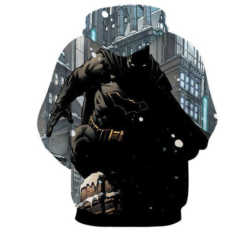 Verbalization Batman 3D Hoodie - Jacket - Hoodielovers