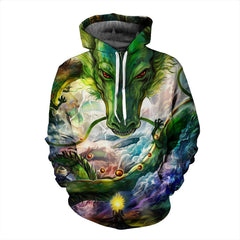 DRAGON BALL Z Hoodies - Shenron with Dragon Ball 3D Hoodie - Jacket - Hoodielovers
