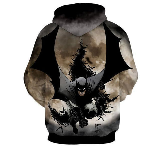 Batman Amazing 3D Hoodie - Batman Jacket - Hoodielovers