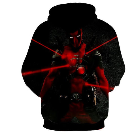 Deadpool Hoodie - Deadpool Clothing - Deadpool Jacket - Hoodielovers