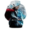 Image of Thor Hoodies - 3D Printed Hoodie - Thor Electric Mjolnir - Hoodielovers