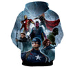 Image of Avengers 3D Printed Hoodie / Iron Man / Captain America / Hulk & All Other - Hoodielovers