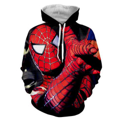 Unique Style Spiderman 3D Hoodie - Jacket - Hoodielovers