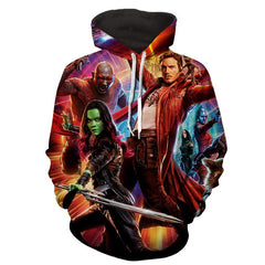 Guardian Of Galaxy 3D Hoodie-Jacket - Hoodielovers