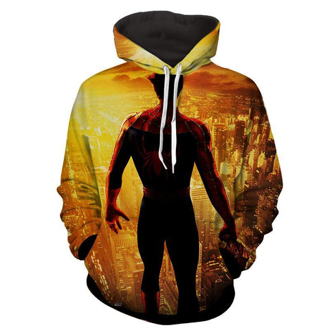 Spiderman Hoodie - Spider World Hoodie - Spiderman Jacket - Hoodielovers