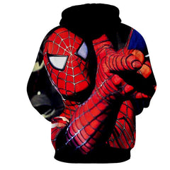 Unique Style Spiderman 3D Hoodie - Jacket