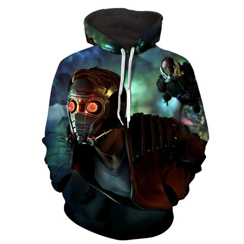 Peter Jason Quill 3D Hoodie-Guardian Of Galaxy Jacket - Hoodielovers