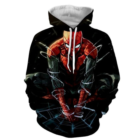 Spiderman 3D Hoodie - Jacket - Hoodielovers