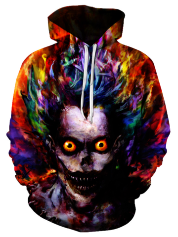 Water Color Art Joker Hoodie - 3D Hoodie - Hoodielovers