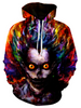Image of Water Color Art Joker Hoodie - 3D Hoodie - Hoodielovers