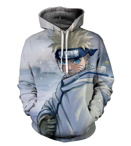 NARUTO IN SNOW 3D HOODIE - Hoodielovers