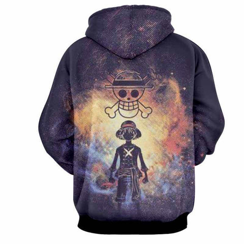 Pirate King Luffy 3D Hoodie - Jacket - One Piece - Hoodielovers
