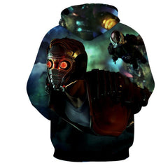 Peter Jason Quill 3D Hoodie-Guardian Of Galaxy Jacket